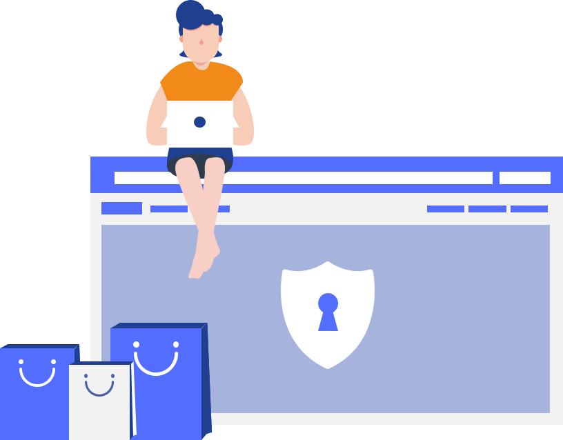 Retail online sécurité