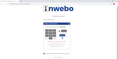 deviceless browser token