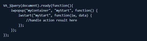 inWebo code